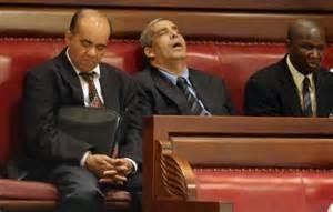 sleeping senator