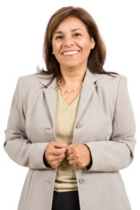 hispanic business woman