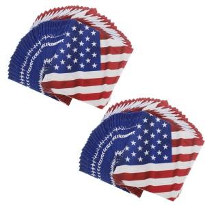 flag napkin