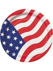 flag plate